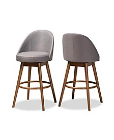 Carra Bar Stool, Quick Ship (Set of 2)