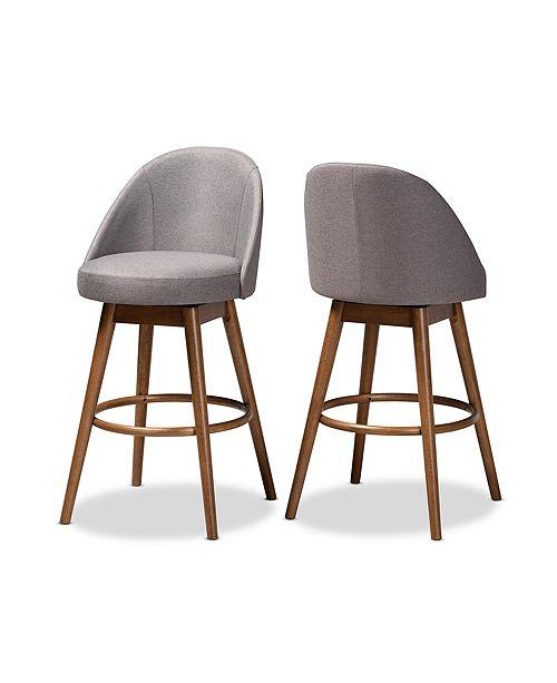 Furniture Carra Bar Stool, Set of 2