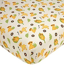 Lion King Fitted Crib Sheet