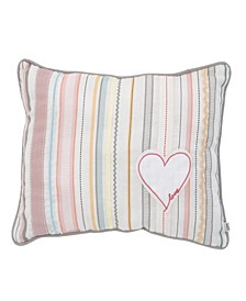 Cotton Tail Ribbon Stripe Decorative Pillow