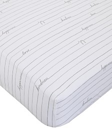 Starry Night Fitted Crib Sheet
