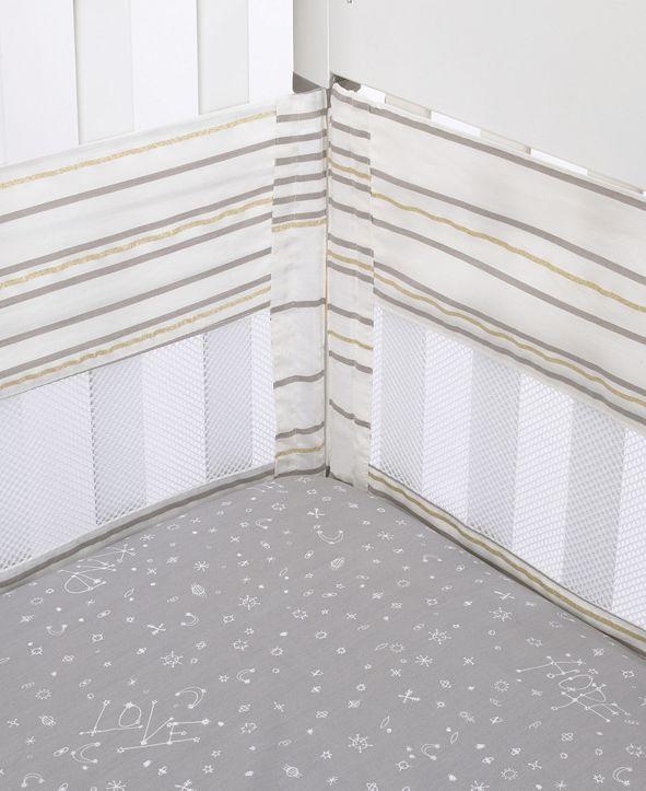 ED Ellen Degeneres Starry Night Secure-Me Crib Liner