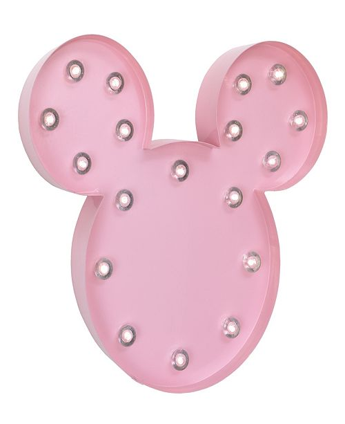 Disney Minnie Mouse Marquee Wall Light