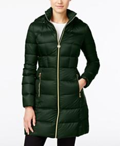 644081b57 Green Puffer Coat: Shop Puffer Coat - Macy's