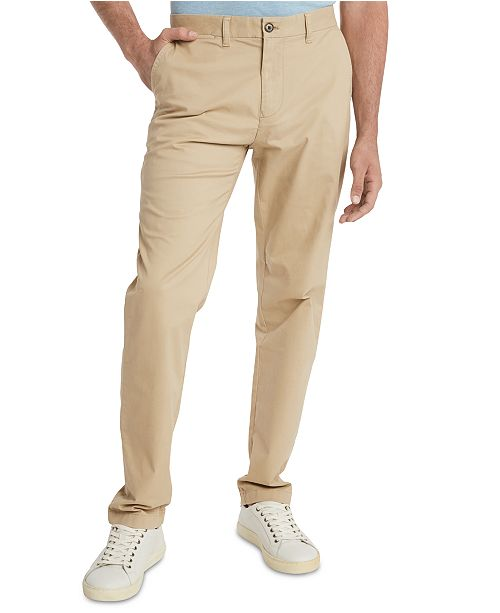 Tommy Hilfiger Men's TH Flex Stretch Custom-Fit Chino Pant ...