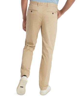 tommy hilfiger khaki pants slim fit