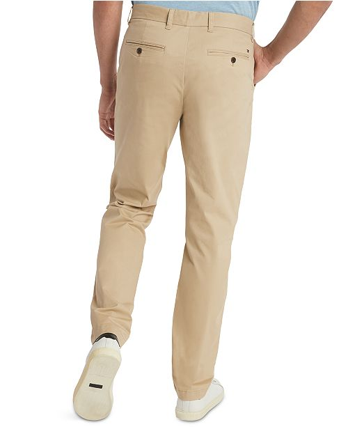 best sneakers new style best supplier Tommy Hilfiger Men's TH Flex Stretch Custom-Fit Chino Pant ...