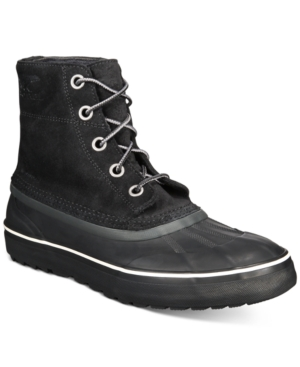 Sorel Boots MEN'S CHEYANNE METRO LACE-UP BOOTS MEN'S SHOES