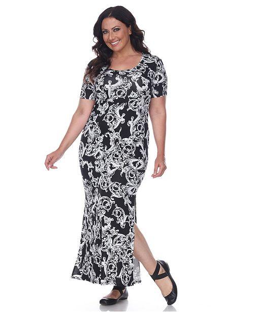 Women\'s Plus Size Jasmine Maxi Dress
