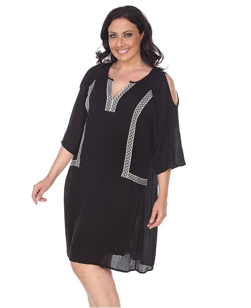 Women\'s Plus Size Marybeth Embroidered Dress