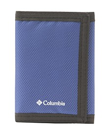 Men's RFID Fabric Sport Trifold Wallet with Velcro Closure