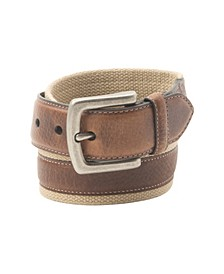 Washed Cotton Men's Belt