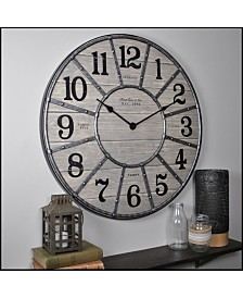 "Firstime & Co 27"" Cooper Wall Clock"