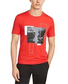Men's Kors X Tech Pieced Abstract Graphic T-Shirt