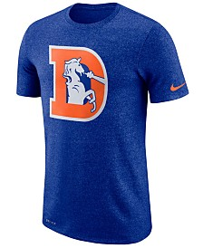 Nike Men's Denver Broncos Marled Historic Logo T-Shirt
