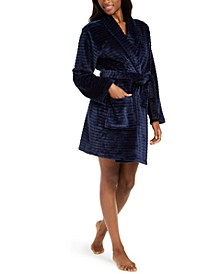 Let Me Sleep Plush Robe, Created for Macy's