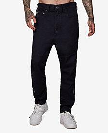 True Religion Men's Marco No Flap Reflective Side Stripe Jeans