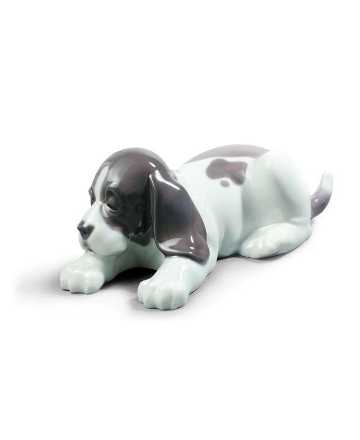 Lladró - Sleepy Puppy Figurine