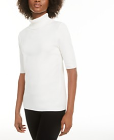 Alfani Petite Turtleneck Sweater, Created For Macy's