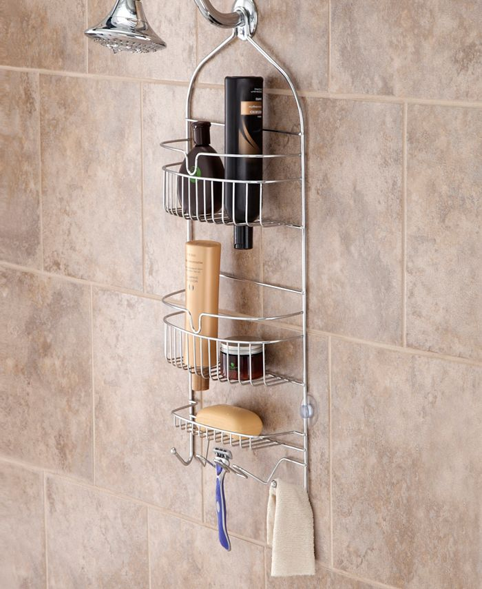 Kenney - Rust-Resistant Heavy Duty 3-Tier Large Hanging Shower Caddy