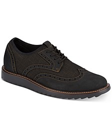 Men's Hawking Wingtip Performance Dress Casual Oxfords