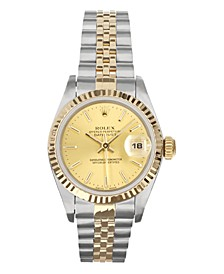 Ladies TT Datejust Jubilee With Champagne Dial