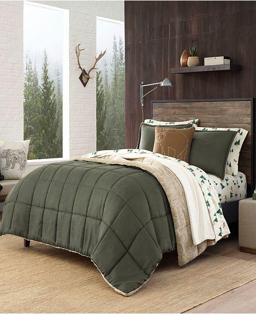 Sherwood Dark Green Comforter Set, King
