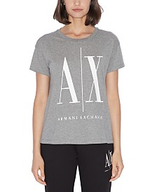Armani Exchange Cotton Logo T-Shirt