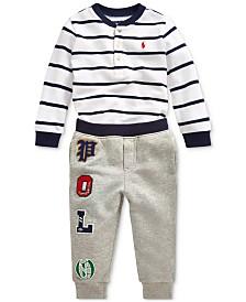 Polo Ralph Lauren Baby Boys Shirt & Joggers
