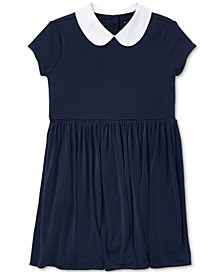 Toddler Girls Knit Collar Dress