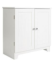 Redmon Contemporary Country Double Door Cabinet