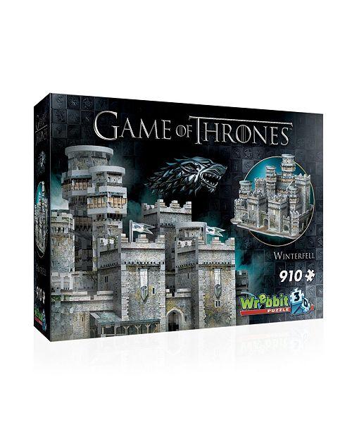 Wrebbit Winterfell 3D Puzzle