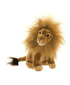 Seated Lion Plush Toy