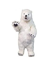 Polar Bear Cub Standing Plush Toy