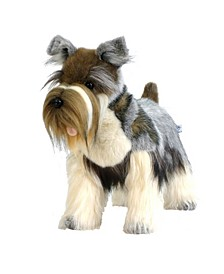 "18"" Mini Schnauzer Plush Toy"