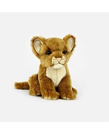 Hansa Lion Cub Plush Toy