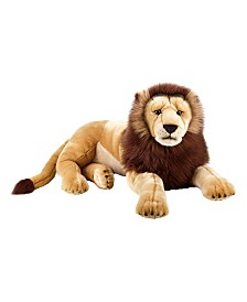 Venturelli Lelly National Geographic Giant Lion Plush Toy