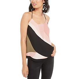 Colorblocked Layered-Hem Camisole, Created for Macy's