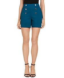 INC High-Waist Sailor Shorts, Created for Macy's
