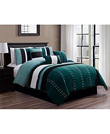 Luxlen Kastner 7 Piece Comforter Set, King