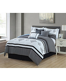 Luxlen Gloucester 7 Piece Comforter Set, King