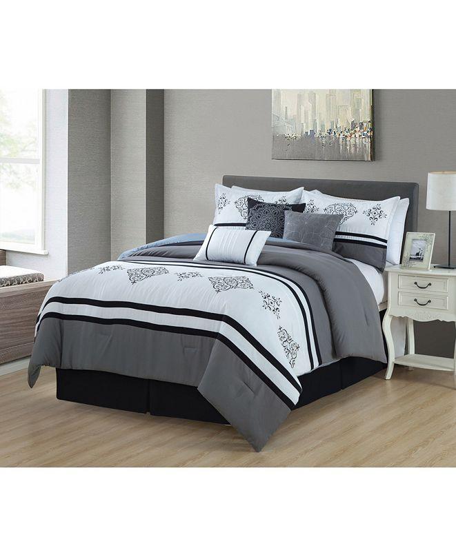 Luxlen Gloucester 7 Piece Comforter Set, King