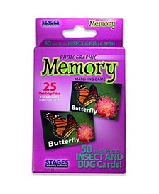 - Picture Memory Card Game - Insects Bugs