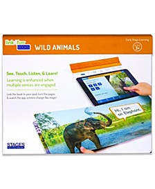 Linf4fun Wild Animals Interactive Board Book With Free iPad App