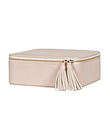 Mele Co. Shiloh Travel Jewelry Case in Faux Leather