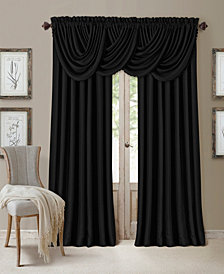 All Seasons Blackout Window Curtain and Valance Collection