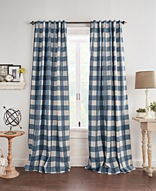 Grainger Buffalo Check Blackout Curtain Collection