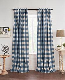 Grainger Buffalo Check Blackout Curtain Collection