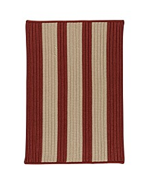Boat House Rust Red 2' x 3' Accent Rug