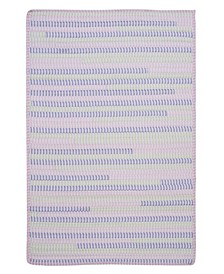 Ticking Stripe Rect Dreamland 2' x 4' Accent Rug